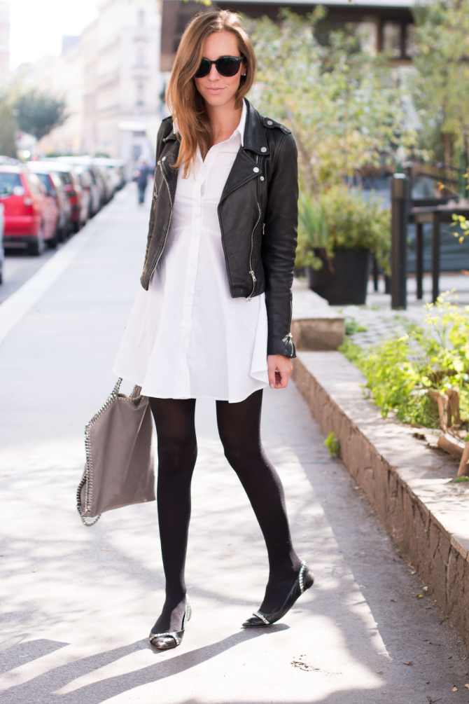 Leather Jacket, Shirtdress