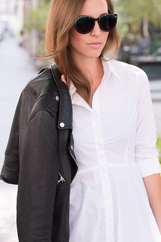 Leather Jacket, Shirtdress