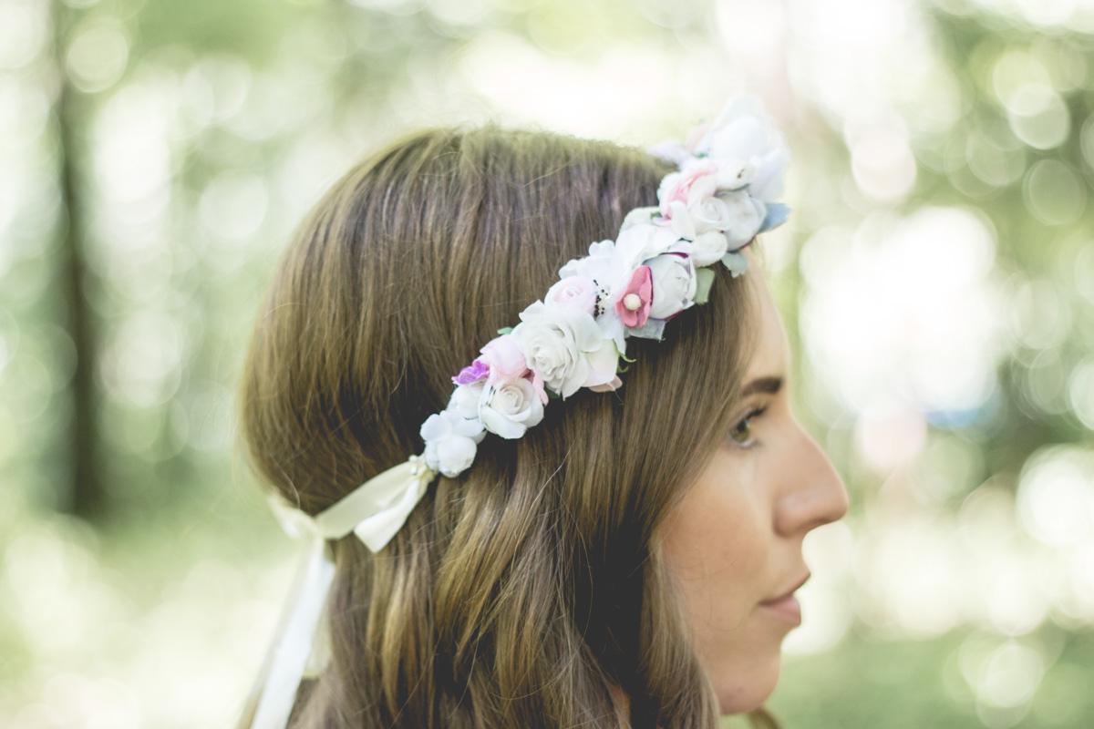 Love My Cotton USA   Simple Shirt, Flower Crown & Denims