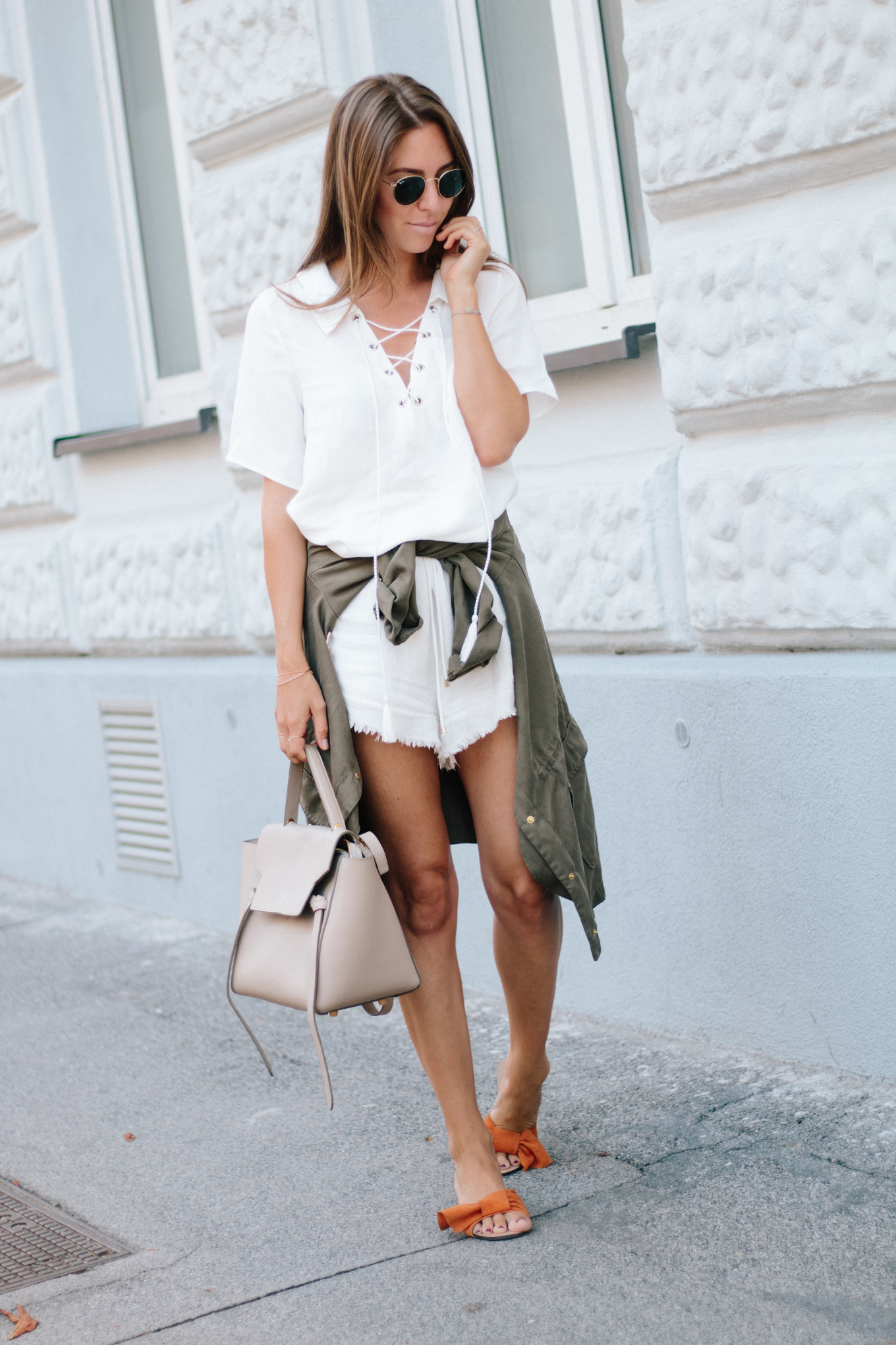 Outfit Sabo Skirt Castaway Top Stranded Shorts