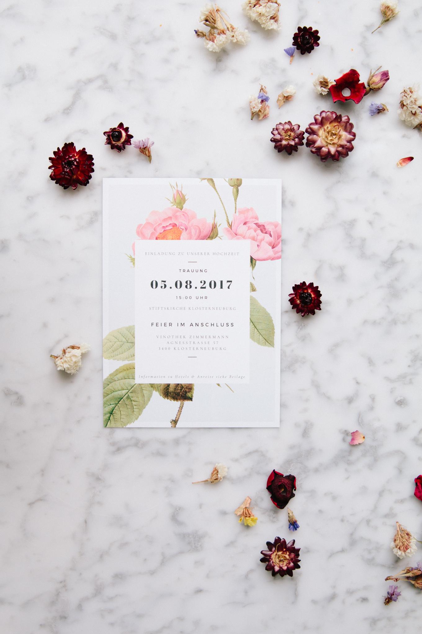 DIY Hochzeitseinladungen selber machen